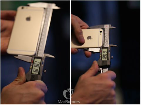 iPhone 6s dimensiones