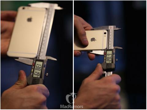 iPhone 6s dimensiones