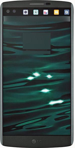 LG V10 doble pantalla frontal con accesos directos