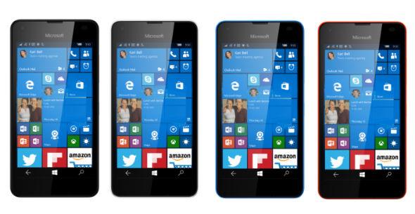 Microsoft Lumia 550 colores