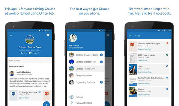 Microsoft Outlook Groups