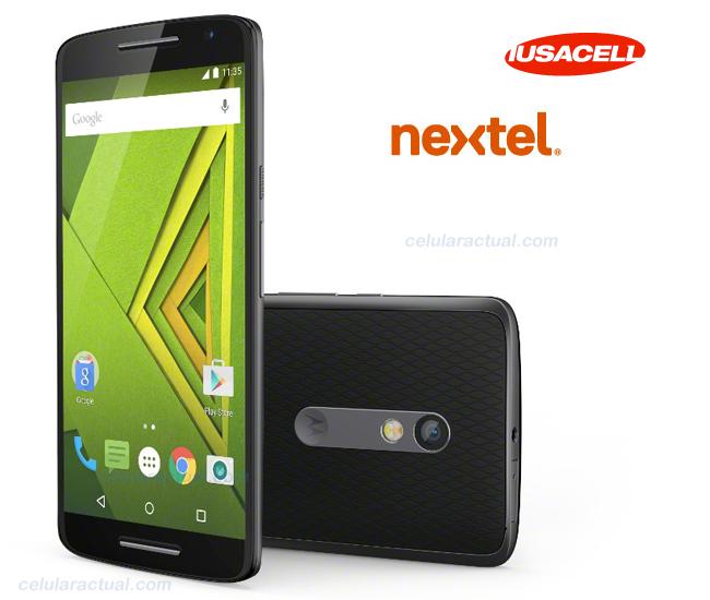 Moto X Play  con AT&T México (Iusacell y Nextel)