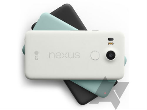 Nexus 5X colores