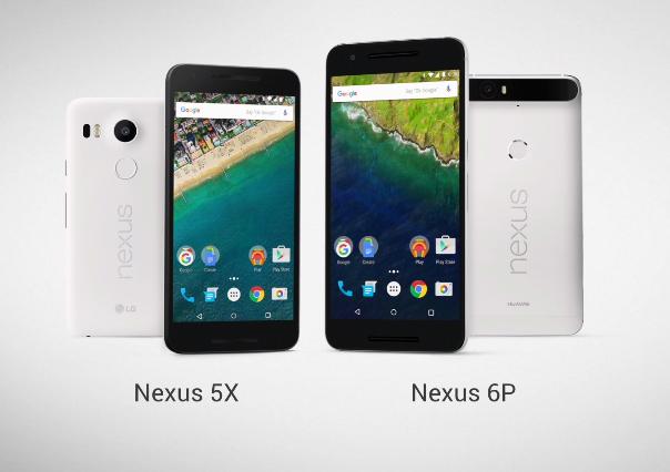Google Nexus 5X y Nexus 6P oficiales