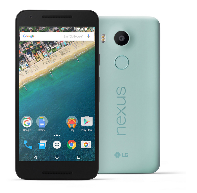 Nexus 5X color verde