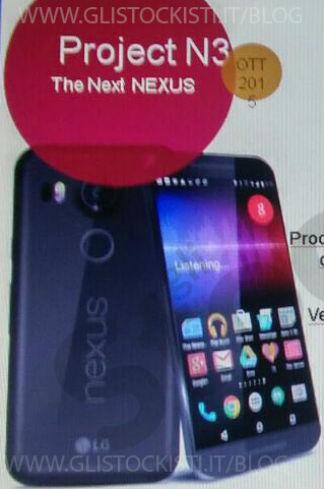Nexus 5X vista frontal