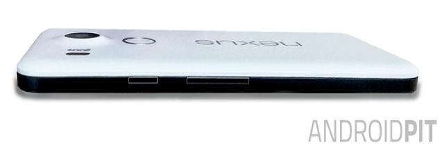 Nexus 5 Xvista lateral