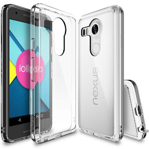 Nexus 5X cubierta