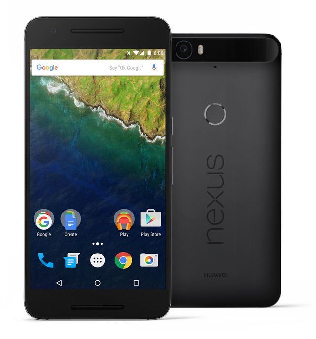 Google Nexus 6P color gris oscuro