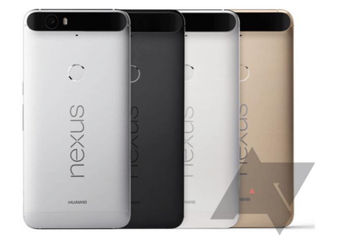 Nexus 6P colores