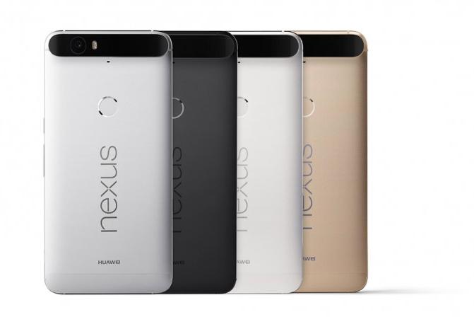 Google Nexus 6P de Huawei oficial