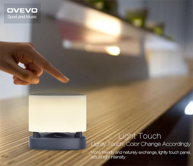 Ovevo Fantasy Pro Z1 lámpara LED que cambia intensidad con Tocarla