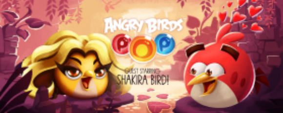 Shakira Angry Birds