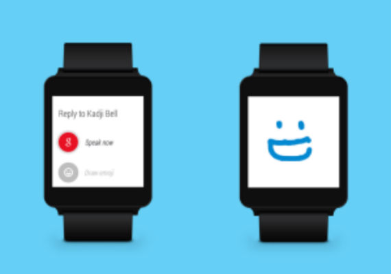 Skype en Android Wear