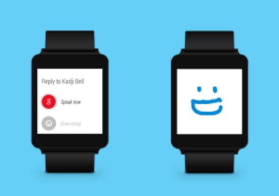 Skype en Android Wear
