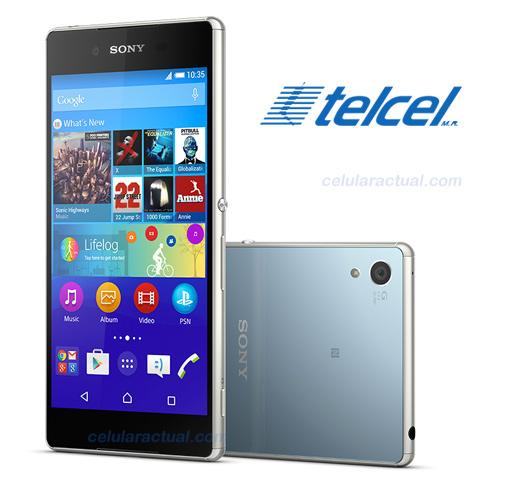 Sony Xperia Z3+ en México con Telcel