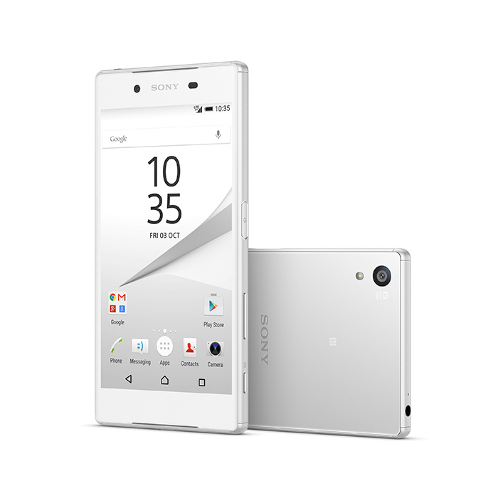 Sony Xperia Z5 Premium pantalla 4K color blanco