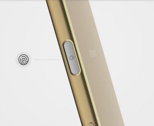 Sony Xperia Z5 Premium lector de huellas digitales
