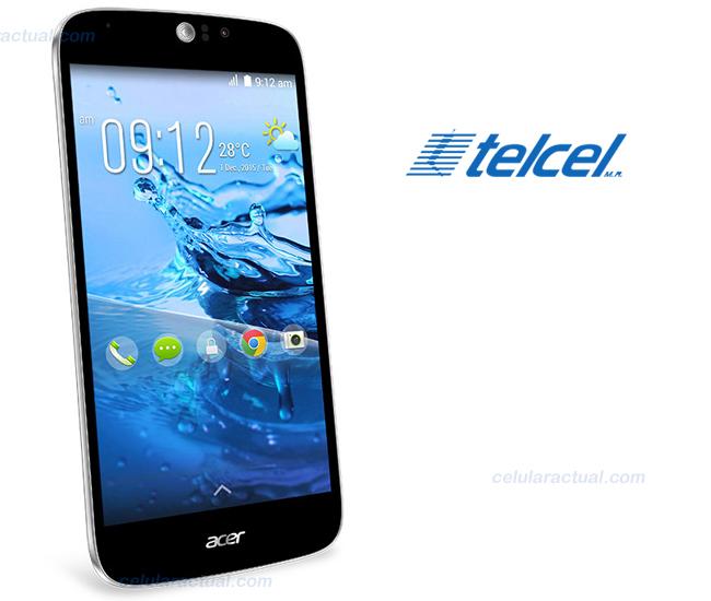 Acer Jade Z en México con Telcel