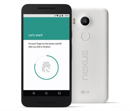 Android Marshmallow Nexus