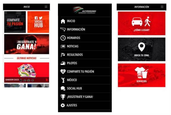 App Autódromo Hermanos Rodríguez