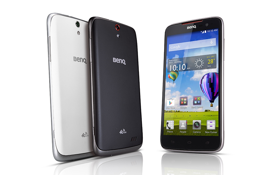 BenQ F5 4G LTE color negro y blanco