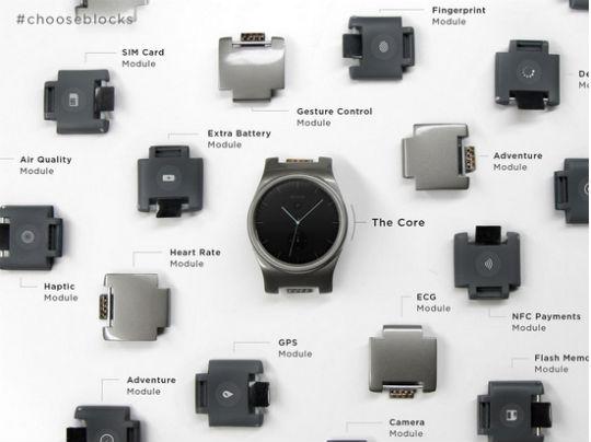 Blocks reloj inteligente de módulos