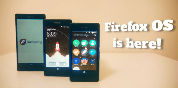 Firefox OS en Sony Xperia