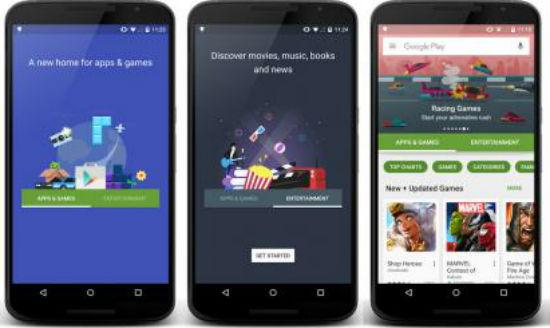 Google Play Store nueva imagen