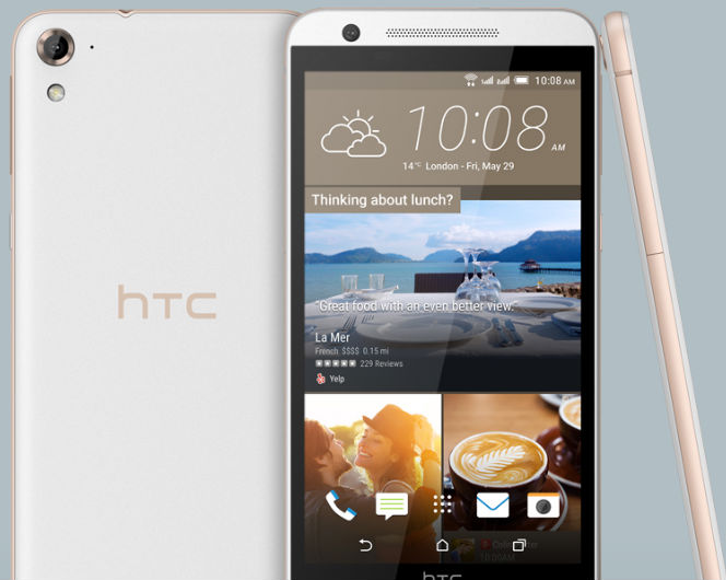HTC One E9s pantalla