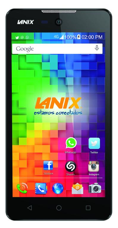 Lanix Ilium LT500 pantalla