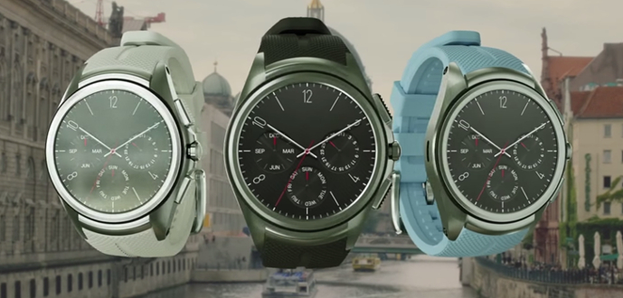 LG Watch Urban 2nd Edition colores
