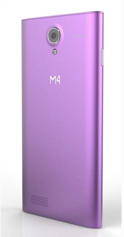 M4Tel M4 Soul vista posterior
