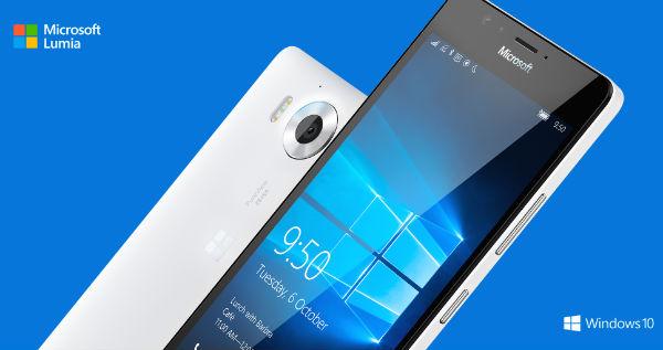 Microsoft Lumia 950 pantalla