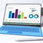La Microsoft Surface Pro 4 con pantalla casi sin bordes laterales