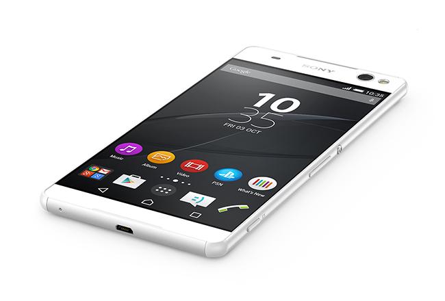 Sony Xperia C5 Ultra en México pantalla de borde a borde