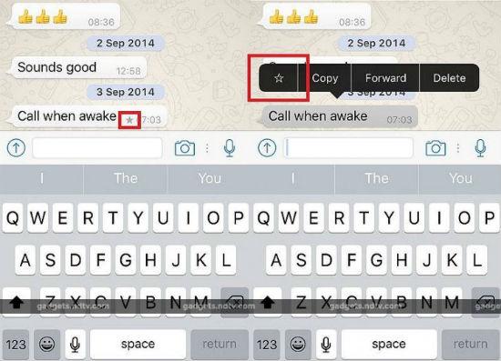 Actualización de Whatsapp en iOS