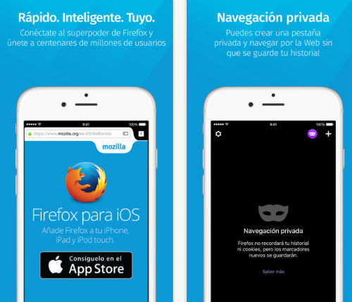El Navegador Firefox ya está disponible para iOS