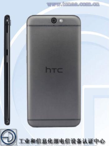 HTC One A9w vista posterior