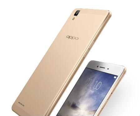 Oppo A53 diseño