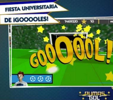 Pumas Gol juego