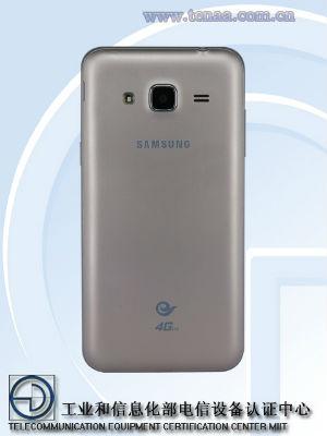 Samsung Galaxy J3 vista posterior