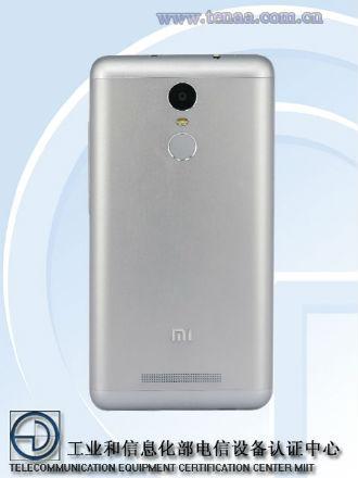 Xiaomi Redmi Note 2 Pro vista posterior