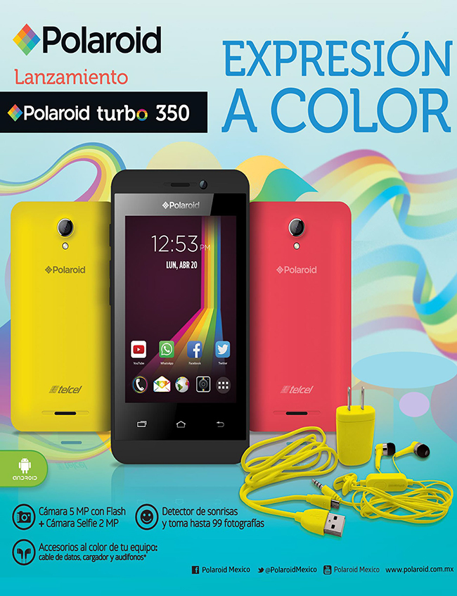 Polaroid Turbo 350 en Telcel
