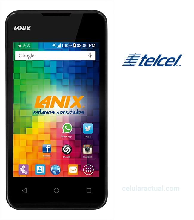 Lanix X200 en México con Telcel