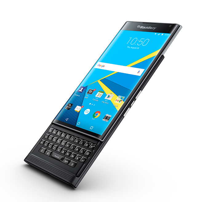 BlackBerry Priv con Android