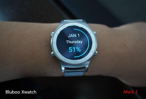 Bludoo Xwatch pantalla