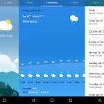 Google ofrece el estado del clima con un atractivo diseño para Android