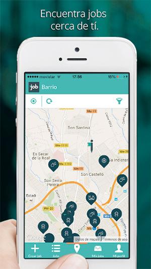 JobMapp Jobs cerca de ti