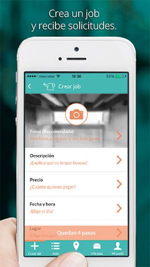 JobMapp crea un Job